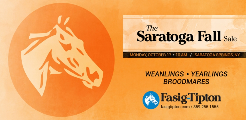 Saratoga Fall Sale Catalogue Now Online