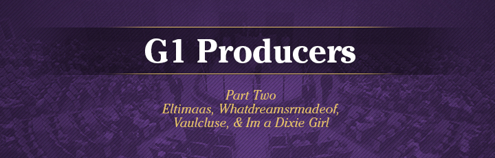 The November Sale: G1 Producers (Part2)