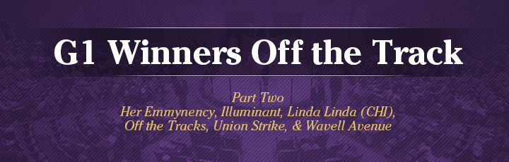 The November Sale: Grade 1 Winners Off the Track (Part2)