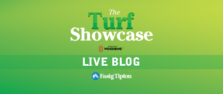 Live Blog: The Turf Showcase (2017)