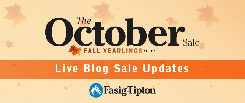 The October Sale: Live Blog, Session4