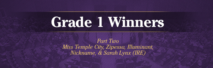 Grade 1 Winners, Part 2
